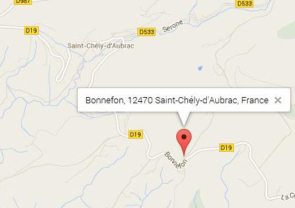 Carte Bonnefon